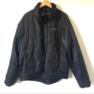 Marmot Black Puffer Jacket Coat Mens Size Large